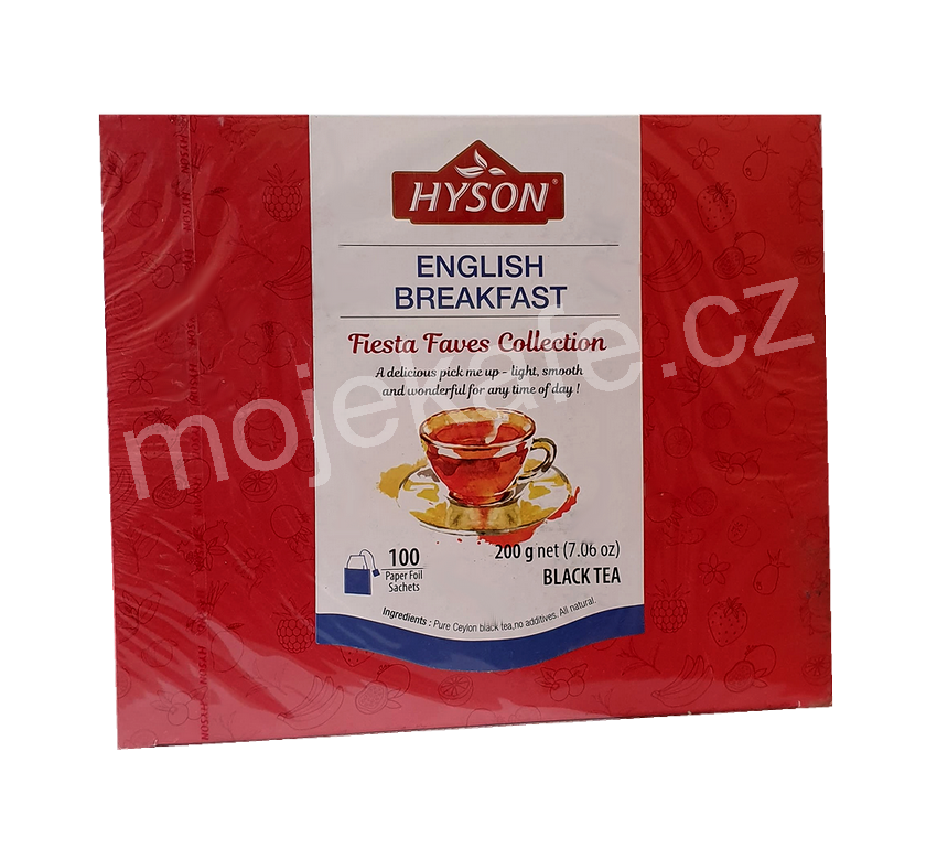 Hyson černý čaj English Breakfast 100ks