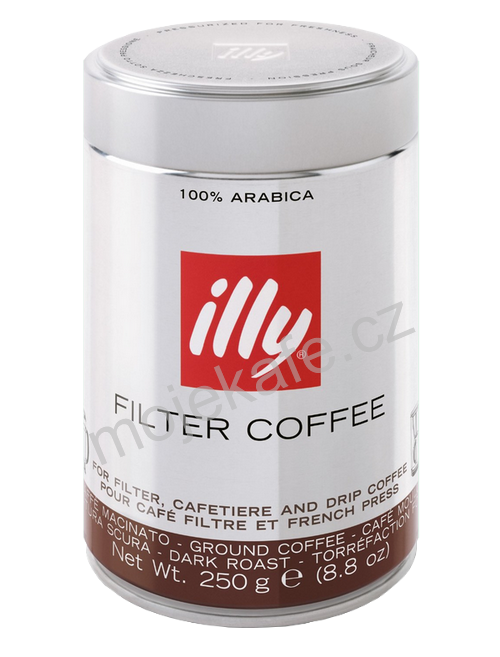 illy Filter Coffee mletá káva 250g