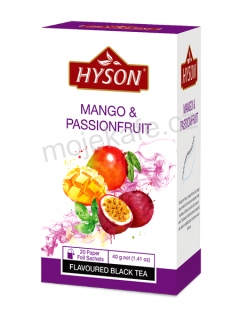 Hyson černý čaj Mango a Passion fruit 20ks