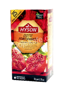 Hyson zelený čaj Exotic Pomegranate 25ks