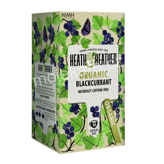 Heat & Heather Organic Černý rybíz 20ks