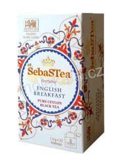 SebaSTea černý čaj English Breakfast 25ks
